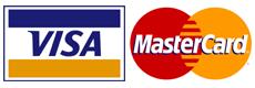 Online platba kartou VISA a MasterCard.