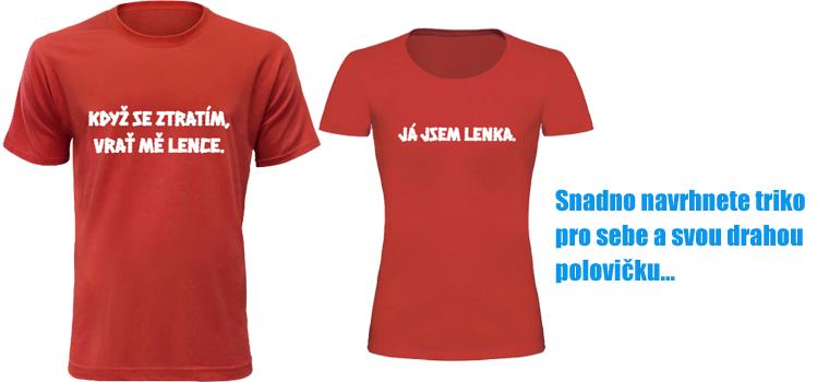 9eb2ffeae67 Také firmy mají v oblibě objednávat trička pro své zaměstnance. Díky  možnosti použitých barev lze na tričko vytisknout téměř cokoliv.