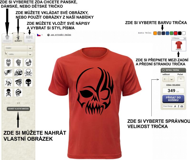 Návod na návrh vlastního trička. e04afead4d