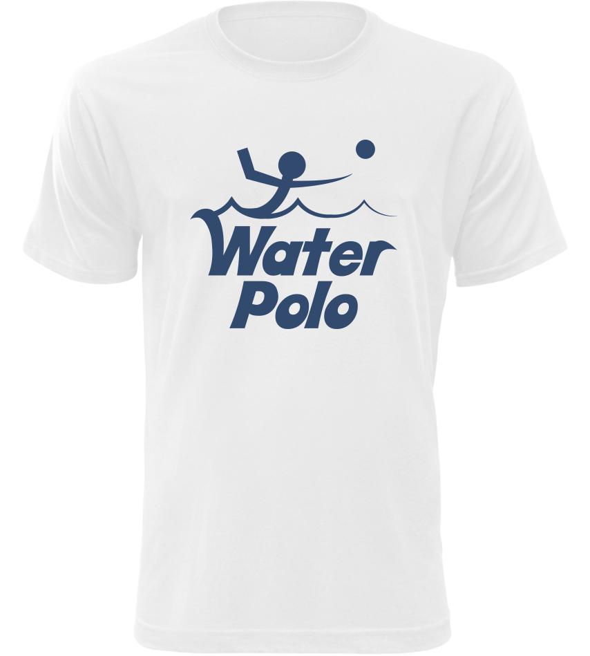 Pánské tričko Water Polo bílé