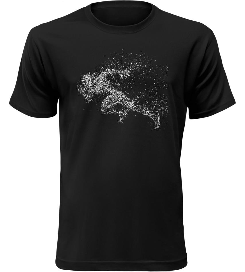 Pánské tričko Sprinter černé