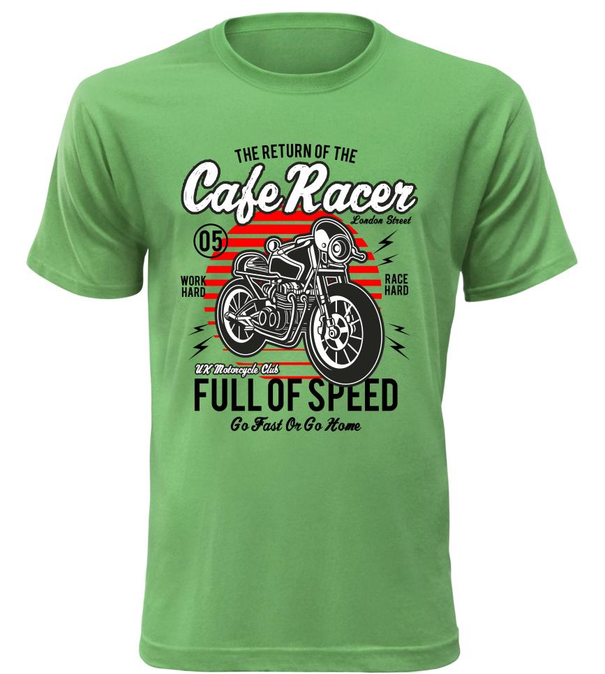 e94a7f09e39 Pánské motorkářské tričko Full of Speed