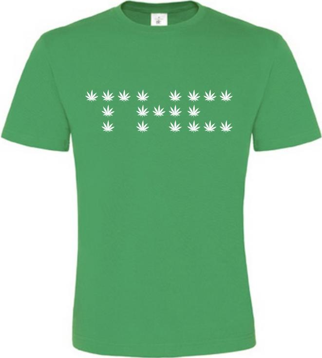 THC zelené tričko pánské