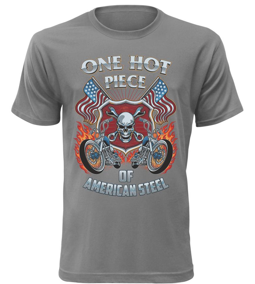 Pánské tričko One Hot Piece šedé