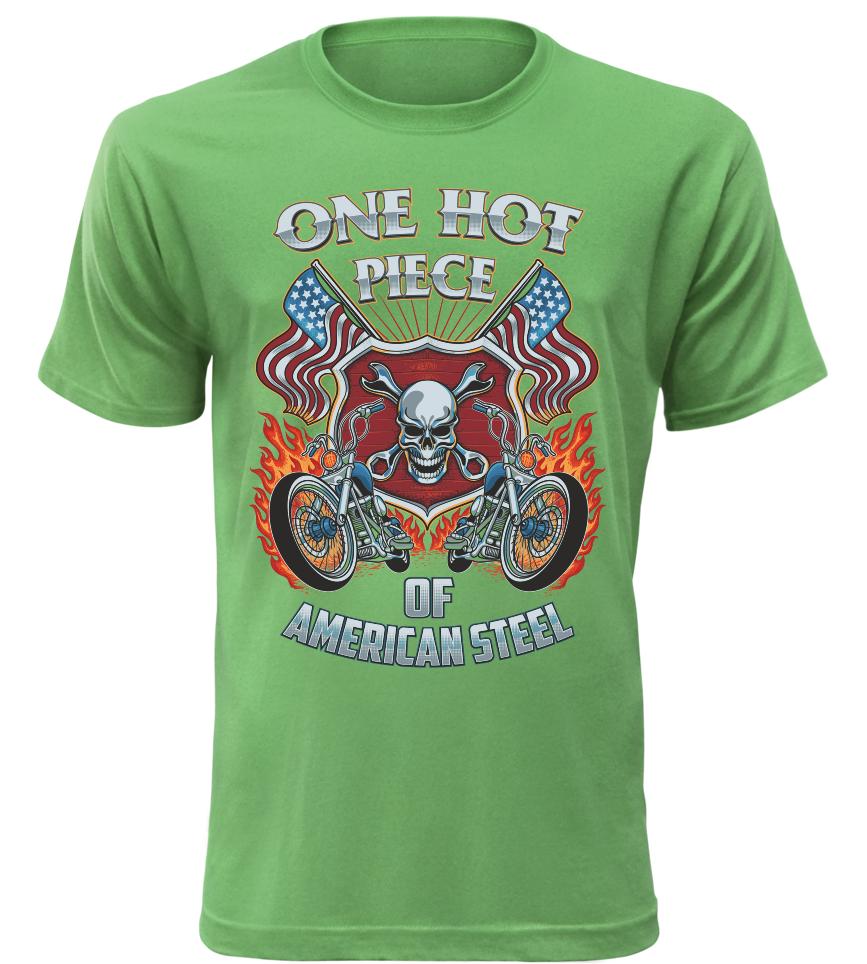 Pánské tričko One Hot Piece zelené