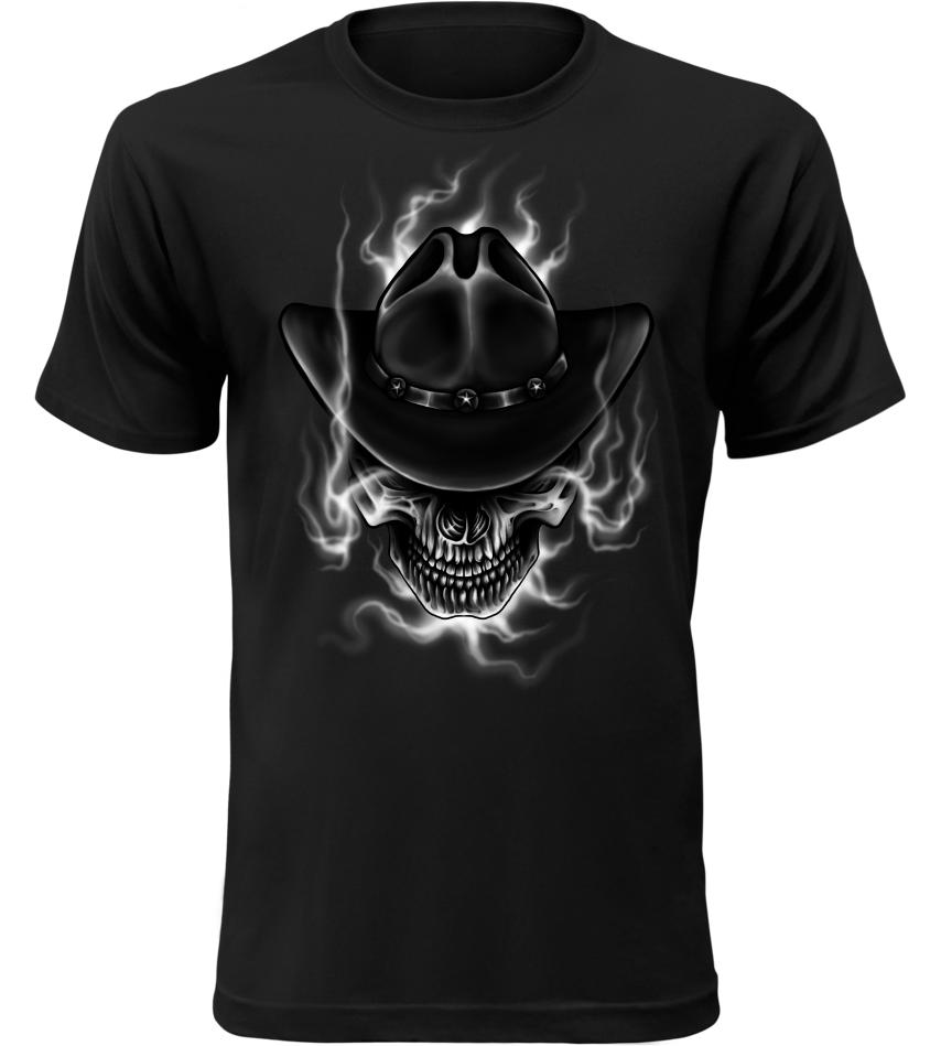 Pánské tričko Wild West Justice černé