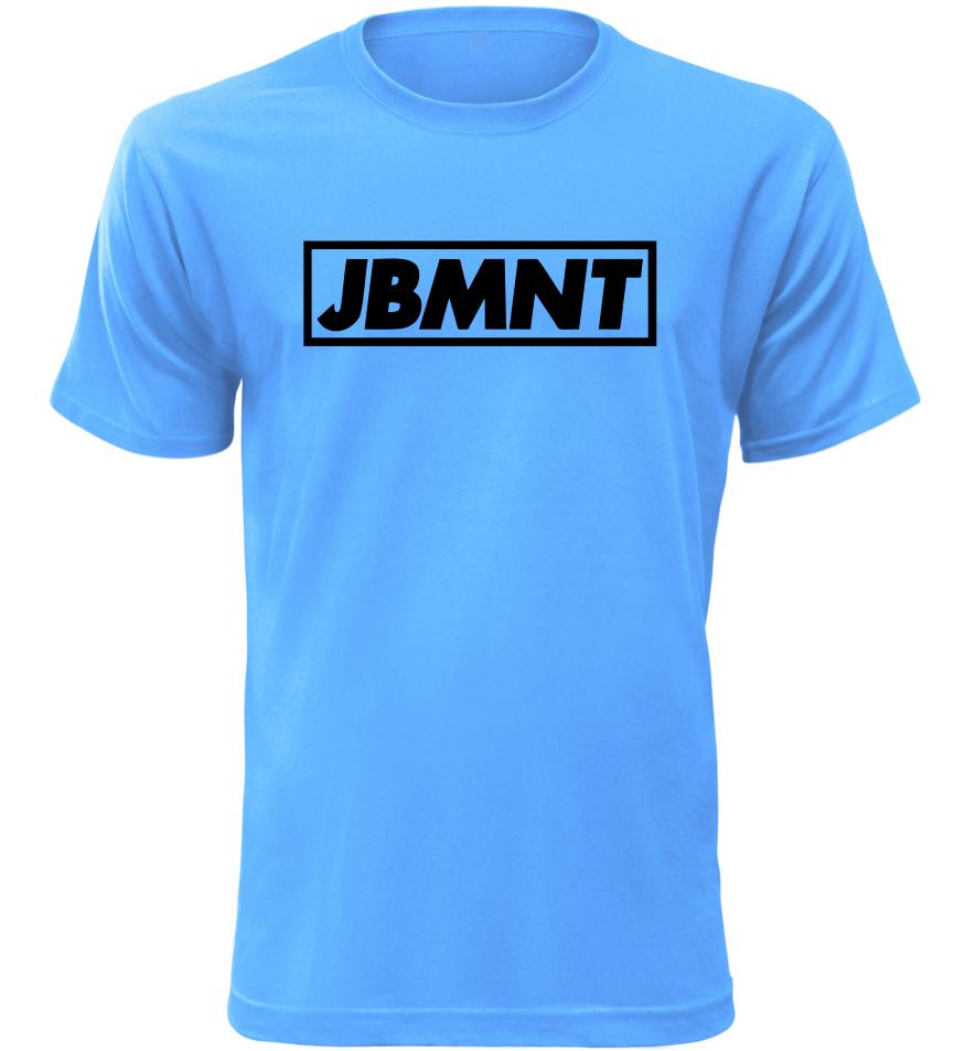 Pánské vtipné tričko JBMNT azurové