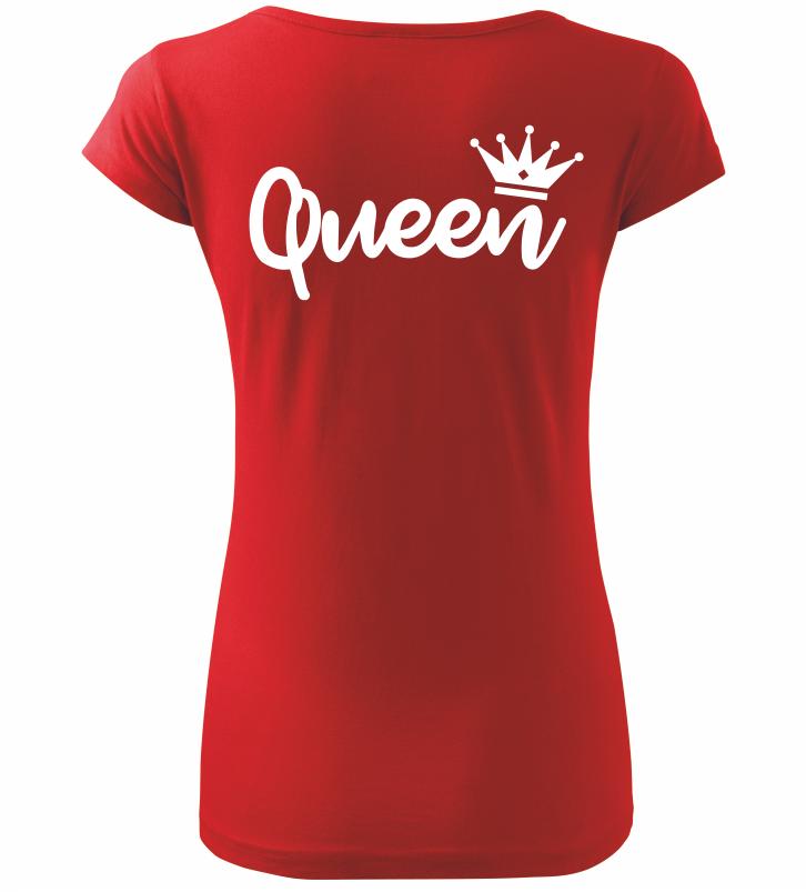 Dámské tričko Queen červené