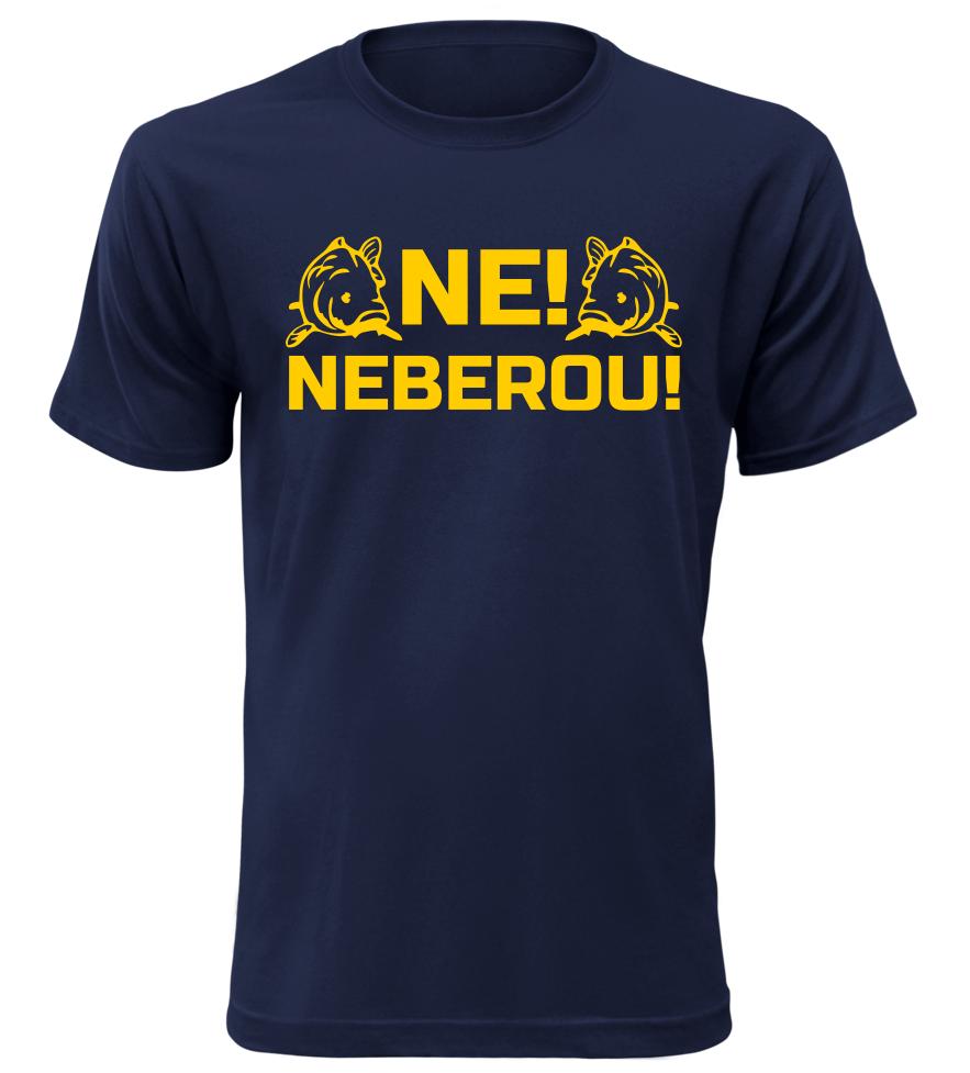 Pánské rybářské tričko Neberou navy