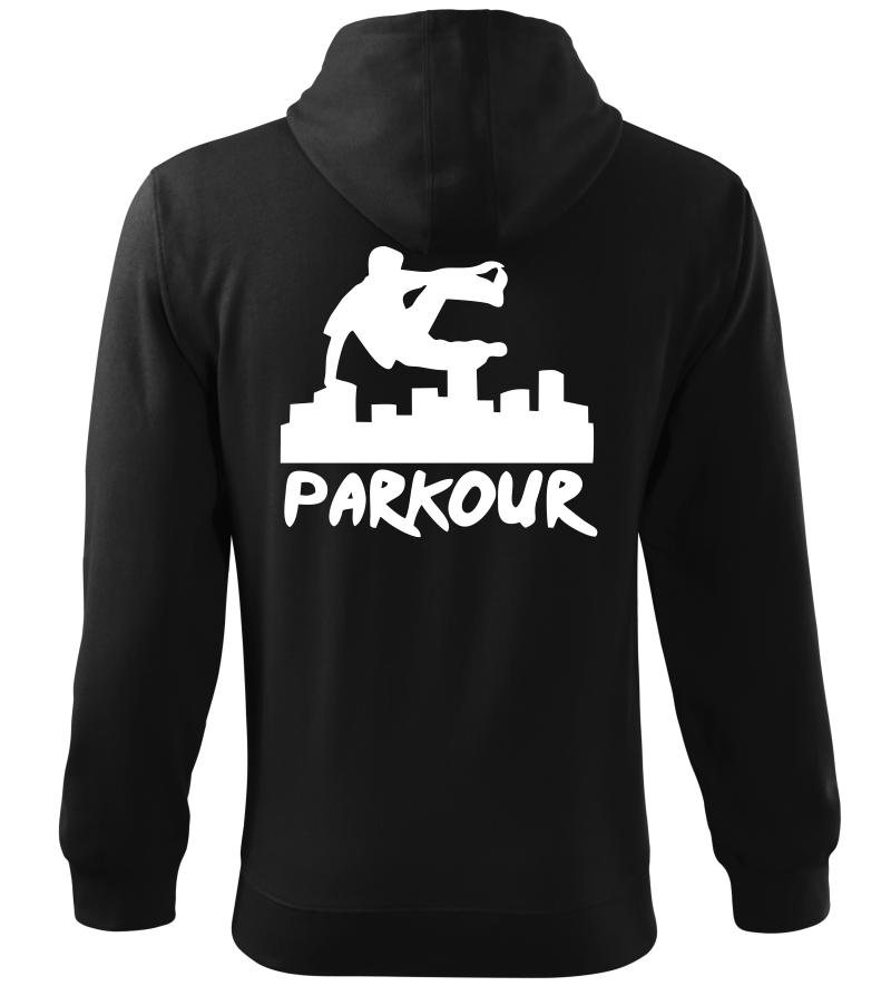 Pánská a dětská mikina Parkour originál černá