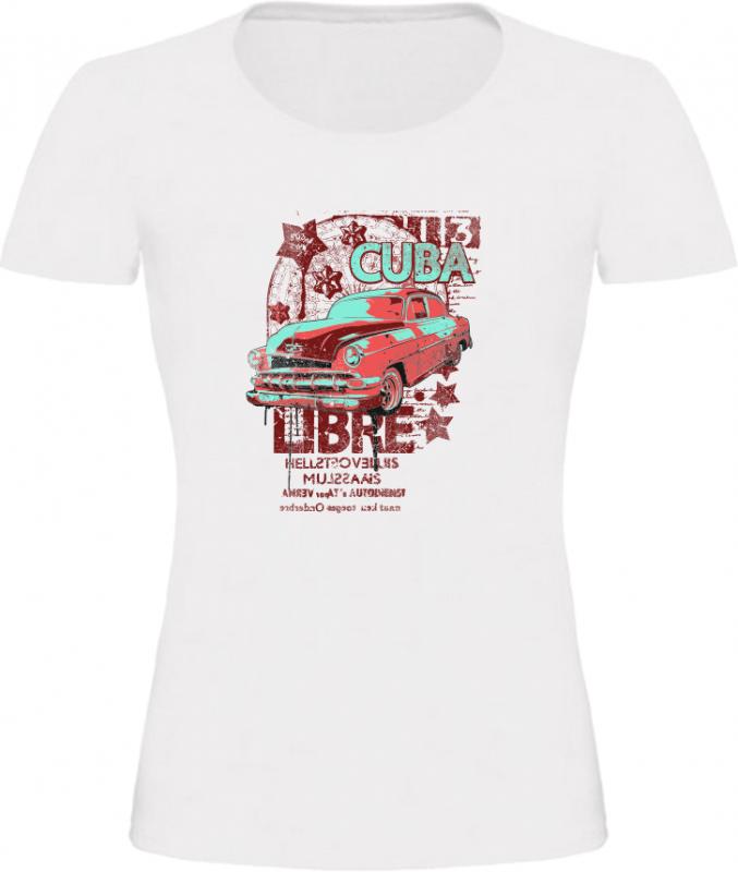 Cuba Libre dámské tričko bílé