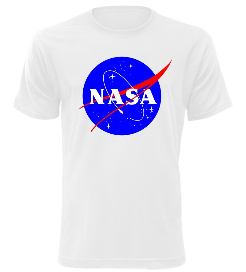 Pánské tričko NASA bílé