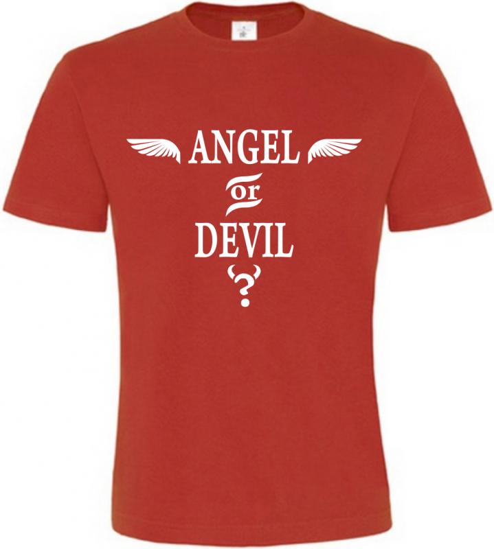 Pánské tričko Angel or Devil