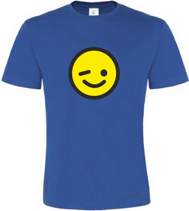Pánské tričko s Mrkajícím smajlíkem