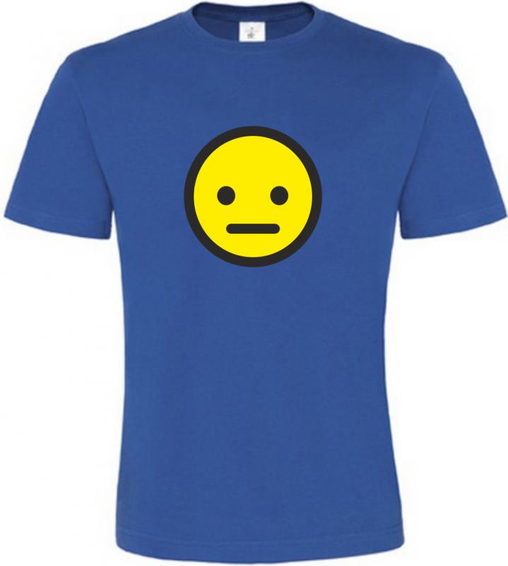Pánské tričko smajlík beze slov