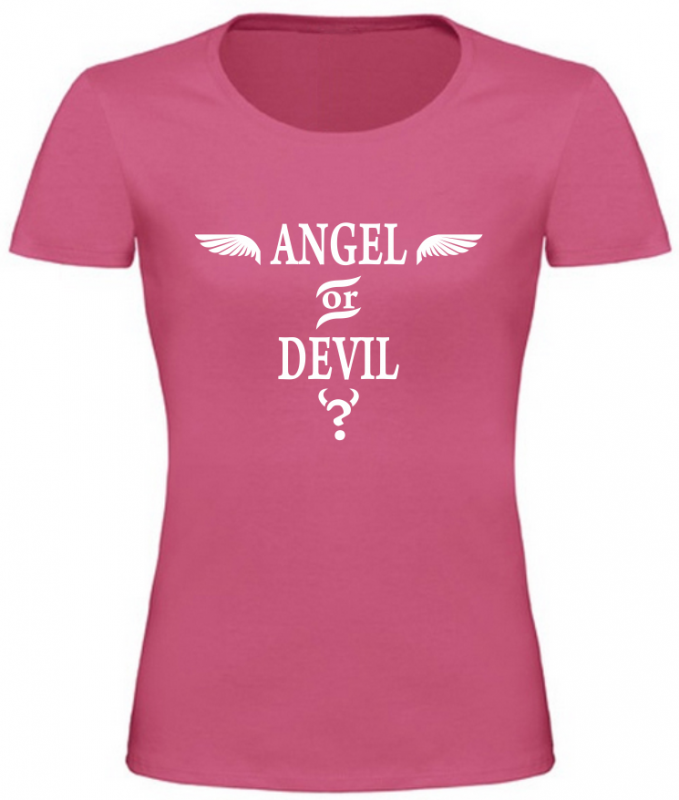a7a217ebdf82 Dámské tričko Angel růžové
