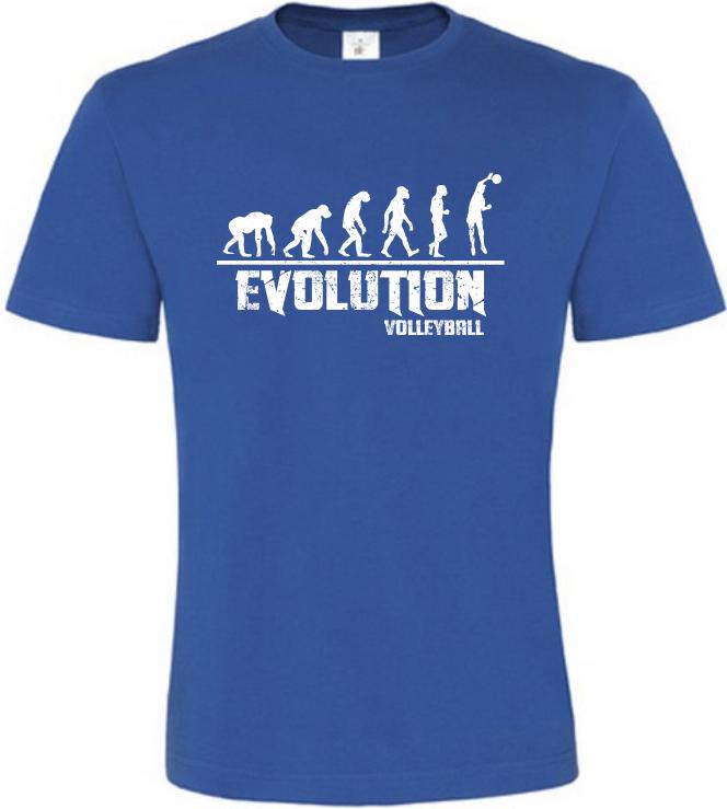 Pánské tričko Evolution Volleyball modré
