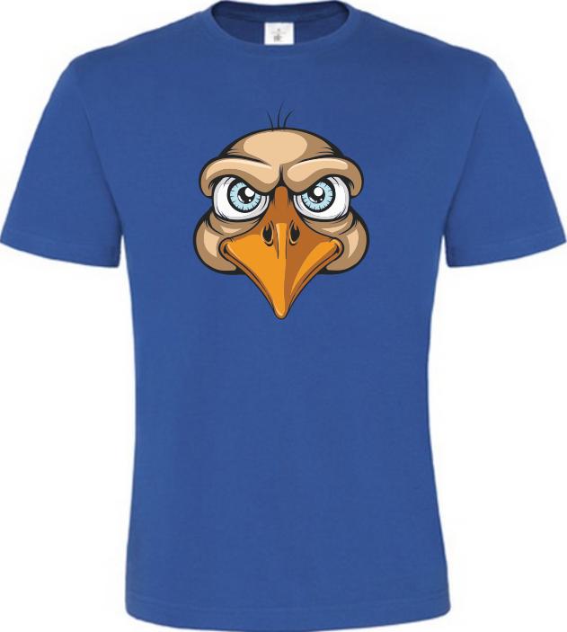 Orel pánské modré tričko