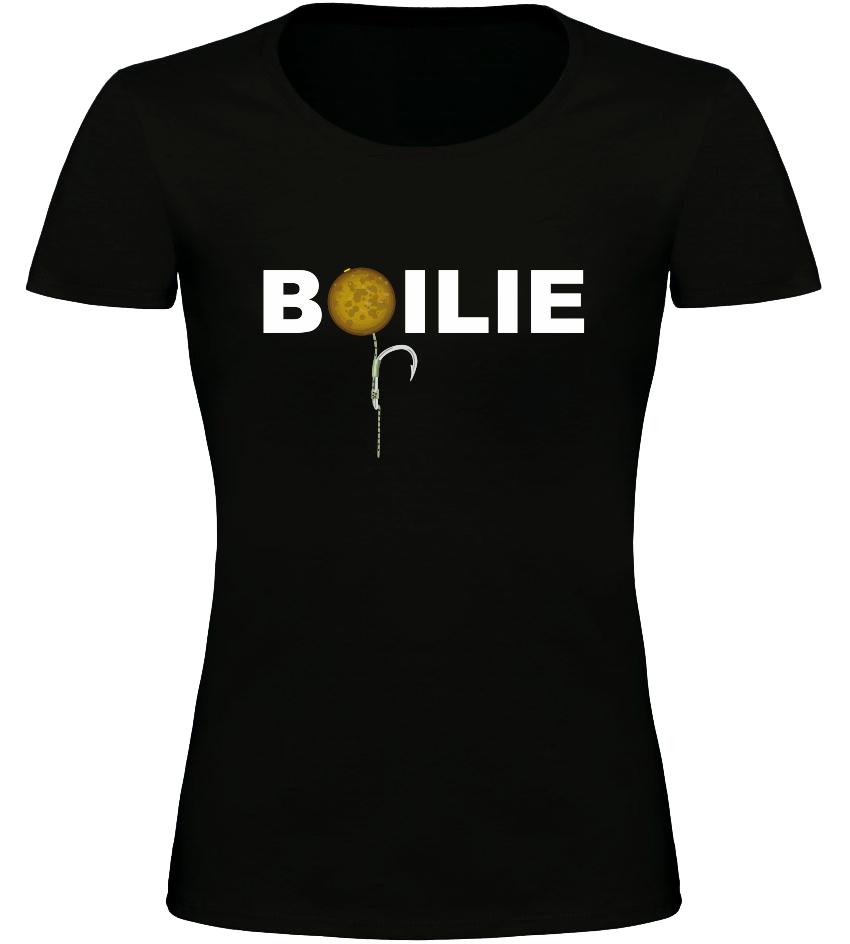 Dámské rybářské tričko BOILIE černé