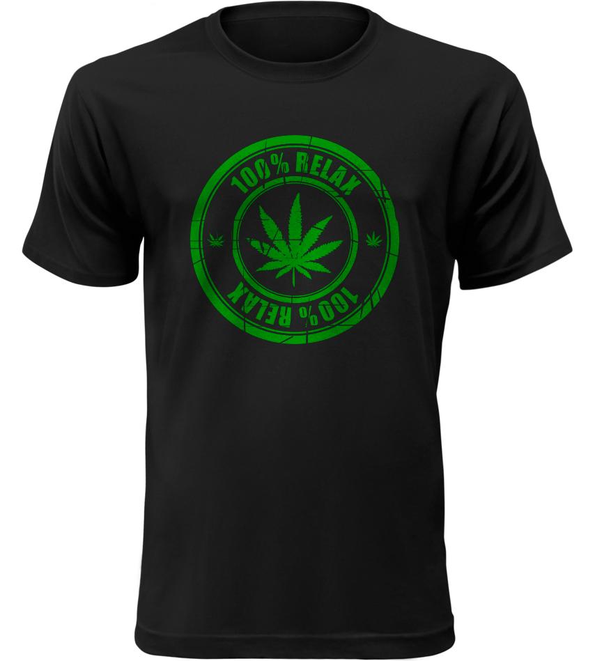 100% Relax THC černé