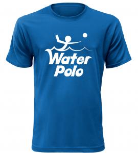Pánské tričko Water Polo modré