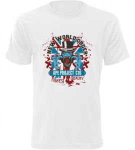 Pánské tričko New World Order bílé