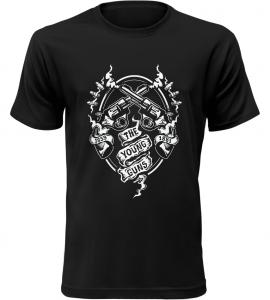 The Young Guns černé tričko pánské