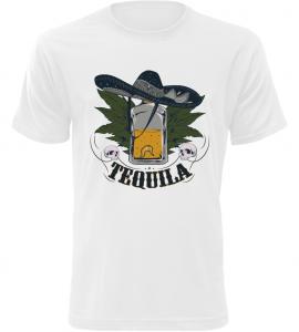Pánské tričko Tequila bílé