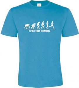 Evolution Running pánské atoll tričko