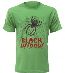 Pánské triko Black Widow zelené
