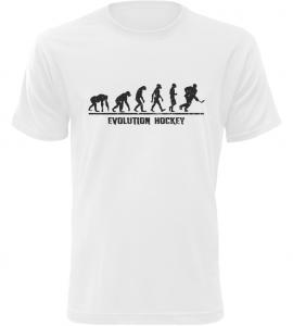 Pánské triko Evolution Hockey bílé