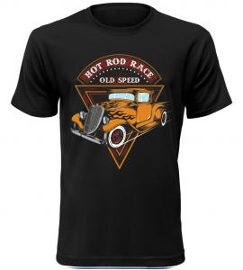 Pánské tričko Hot Rod Race černé