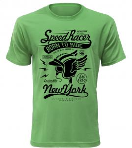 Pánské tričko Speed Racer zelené