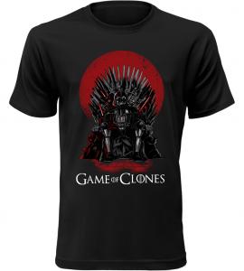 Pánské tričko Game of Clones černé