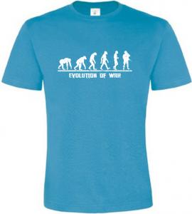 Evolution Of WAR pánské atoll tričko