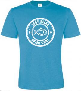 100% Relax Carp atoll tričko pánské