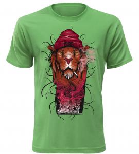 Pánské fashion tričko 85 zelené