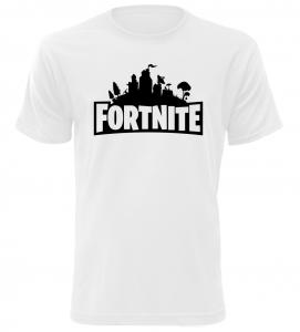 Herní tričko Fortnite bílé