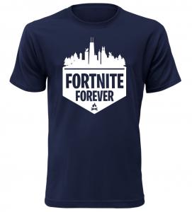 Herní tričko Fortnite Forever navy