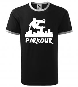 Pánské a dětské tričko Parkour originál černé