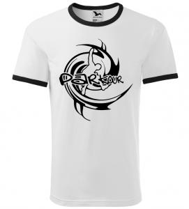 Pánské a dětské tričko Parkour bílé