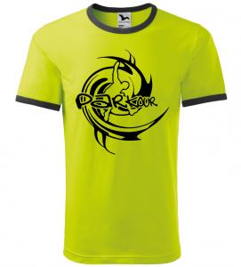 Pánské a dětské tričko Parkour limetkové