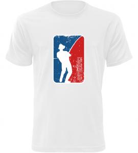 Pánské rybářské tričko Rybařím bílé