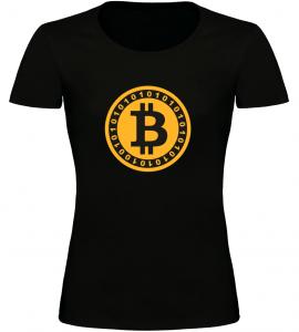 Dámské tričko Bitcoin