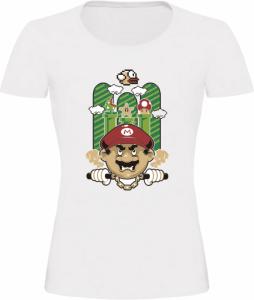 Dámské tričko Super Mario bílé
