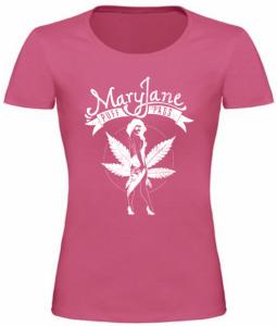Dámské tričko Mary Jane růžové