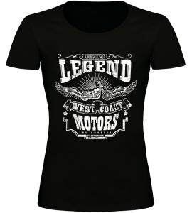 Dámské tričko Legend černé