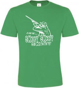 Pánské myslivecké tričko SKEET zelené