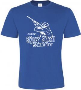 Pánské myslivecké tričko SKEET modré