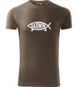 Pánské rybářské tričko Darwin army
